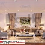 5 Thiết kế nội thất phòng sinh hoạt chung tang lung biệt thự tân cổ điển đẹp sh btp 0130