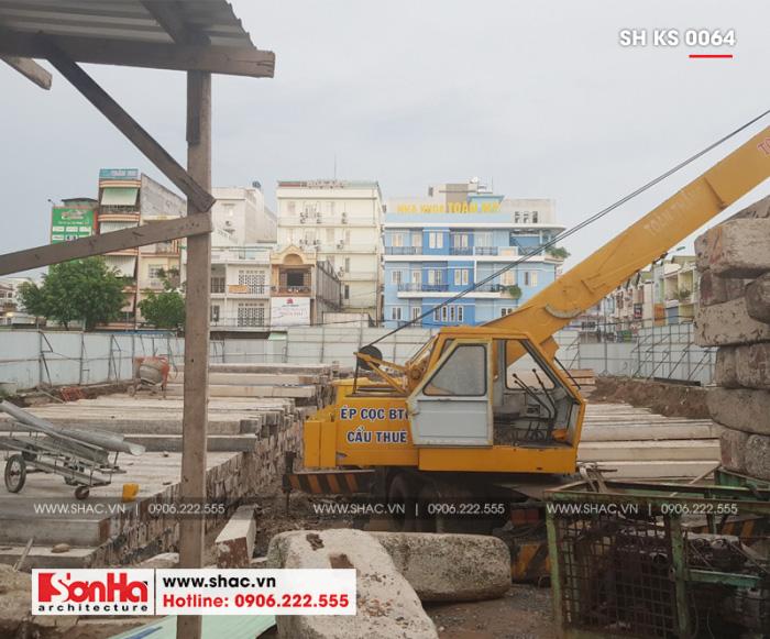 7 Ảnh thực tế thi công trung tâm phức hợp thương mại khách sạn 5 sao tại đồng nai sh ks 0064 (1)