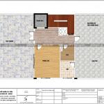 7 Mặt bằng công năng tầng mái khách sạn mini tân cổ điển tại phú thọ sh ks 0065
