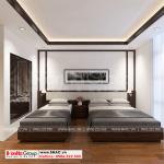 7 Mẫu nội thất phòng ngủ 2 đẹp khách sạn mini tại phú thọ sh ks 0065