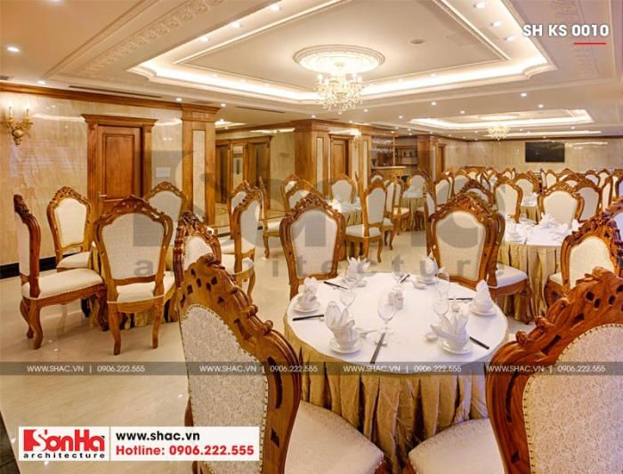 7 Thiết kế nội thất khu nhà hàng khách sạn 4 sao tại quảng bình sh ks 0010