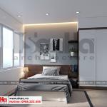 7 Thiết kế nội thất phòng ngủ 1 nhà phố liền kề khu đô thị waterfront hải phòng sh wfc 0003