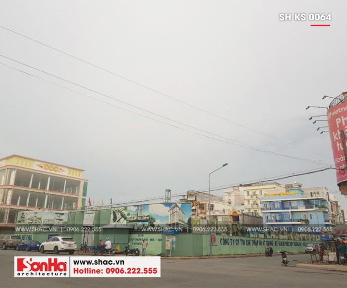 8 Ảnh thực tế thi công trung tâm phức hợp thương mại khách sạn 5 sao tại đồng nai sh ks 0064 (2)