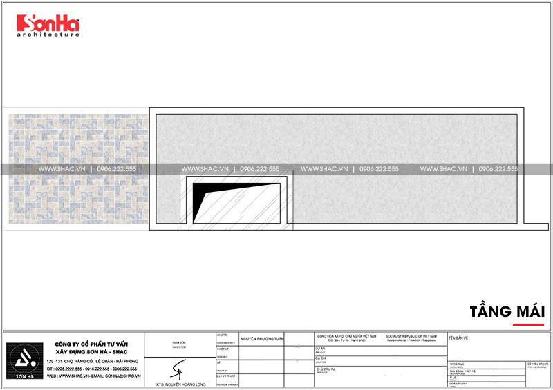 Mẫu nhà ống hiện đại 4 tầng diện tích 4x19m tiện nghi tại quận Hải An, Hải Phòng – SH NOD 0191 8