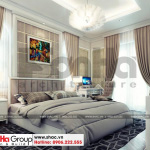 8 Mẫu nội thất phòng ngủ 3 biệt thự tân cổ điển 2 mặt tiền tại sài gòn sh btp 0130