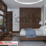 9 Thiết kế nội thất phòng ngủ 4 nhà phố liền kề khu đô thị waterfront hải phòng sh wfc 0003