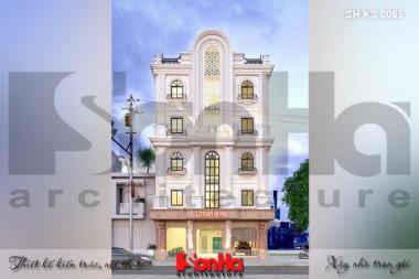Bìa thiết kế khách sạn mini 5 tầng mặt tiền 11m tại phú thọ sh ks 0065