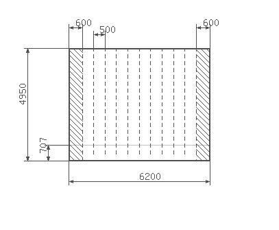 Công thức tính diện tích vật liệu làm mái tôn