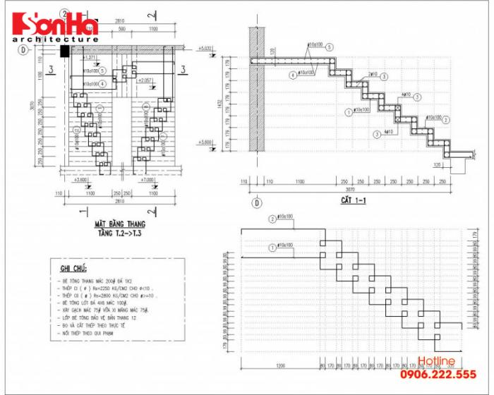Cũng thêm có cách phân loại cầu thang dựa vào vật liệu cấu thành