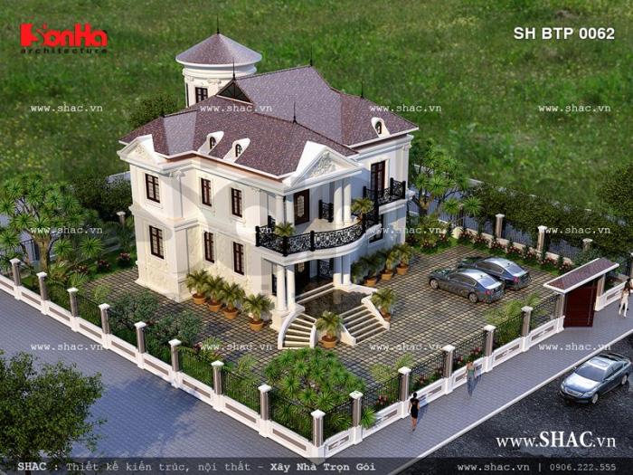 Biệt thự sân vườn 2 tầng đẹp tại Quảng Bình