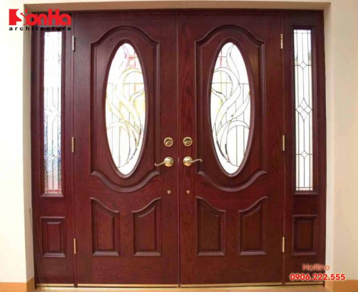 Kích thước cửa chính 4 cánh phong thủy cho nhà đẹp là bao nhiêu