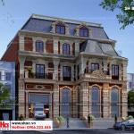 1 Thiết kế biệt thự tân cổ điển đẹp tại sài gòn sh btp 0131