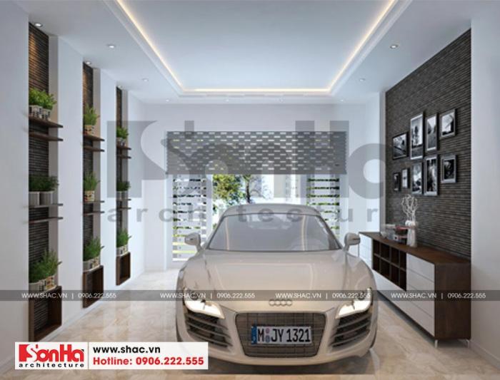 1-thiet-ke-noi-that-gara-nha-ong-hien-dai-tai-hai-phong-700x533 Thiết kế nội thất nhà phố hiện đại diện tích 5x20m