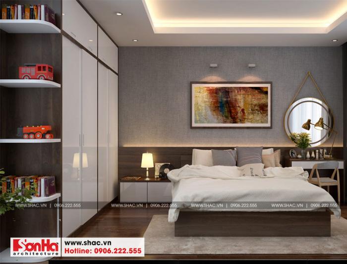 10-mau-noi-that-phong-ngu-3-nha-ong-hien-dai-3-tang-tai-hai-phong-700x533 Thiết kế nội thất nhà phố hiện đại diện tích 5x20m