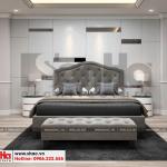 10 Mẫu nội thất phòng ngủ con trai biệt thự tân cổ điển đẹp tại sài gòn sh btp 0131