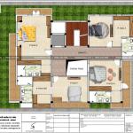12 Mặt bằng công năng tầng 3 biệt thự hiện đại đẹp tại thái bình sh btd 0069
