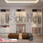 12 Mẫu nội thất khu thay đồ phòng ngủ con trai biệt thự tân cổ điển mặt tiền 18,3m tại sài gòn sh btp 0131