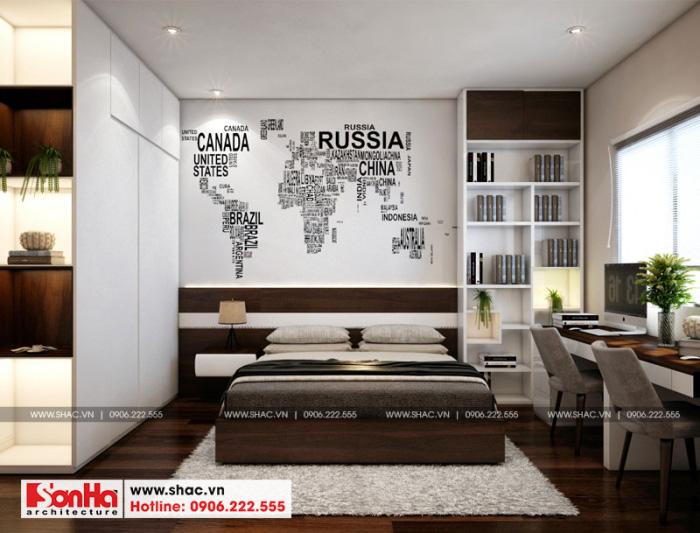 12-mau-noi-that-phong-ngu-4-nha-ong-hien-dai-tai-hai-phong-700x533 Thiết kế nội thất nhà phố hiện đại diện tích 5x20m