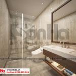 13 Thiết kế nội thất phòng tắm wc hiện đại căn hộ cho thuê tại hải phòng