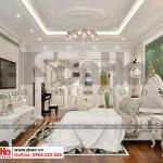 14 Mẫu nội thất phòng ngủ con gái biệt thự tân cổ điển 3 tầng tại sài gòn sh btp 0131
