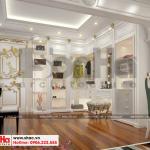 15 Thiết kế nội thất khu thay đồ phòng ngủ con gái biệt thự tân cổ điển mặt tiền 18,3m tại sài gòn sh btp 0131