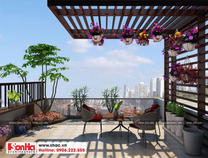 15-thiet-ke-noi-that-tieu-canh-san-vuon-nha-ong-hien-dai-mat-tien-5m-tai-hai-phong-700x533 Thiết kế nội thất nhà phố hiện đại diện tích 5x20m