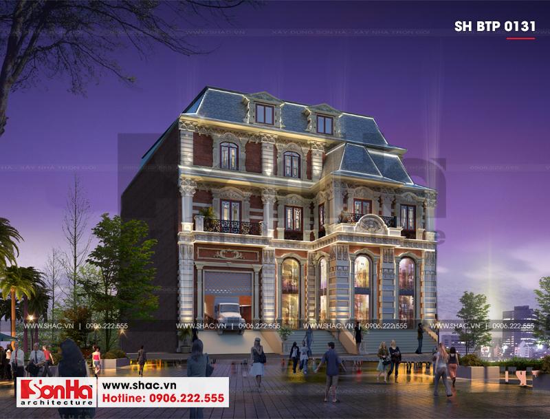 Biệt thự châu Âu diện tích 18,3x 26,9m thiết kế độc đáo tại Sài Gòn – SH BTP 0131 1