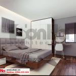 2 Mẫu thiết kế nội thất phòng ngủ hiện đại 1 căn hộ cho thuê tại hải phòng