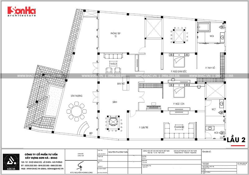 Biệt thự châu Âu diện tích 18,3x 26,9m thiết kế độc đáo tại Sài Gòn – SH BTP 0131 6