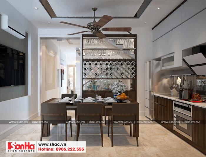 4-mau-noi-that-phong-bep-an-nha-ong-hien-dai-tai-hai-phong-700x533 Thiết kế nội thất nhà phố hiện đại diện tích 5x20m