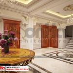 4 Mẫu nội thất sảnh thang biệt thự tân cổ điển 3 tầng tại sài gòn sh btp 0131