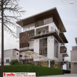 4 Mẫu thiết kế biệt thự hiện đại đẹp tại thái bình sh btd 0069