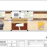 5 Mặt bằng công năng tầng 2 3 4  nhà ống tân cổ điển châu âu đẹp tại hải phòng sh nop 0182
