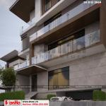 5 Thiết kế biệt thự hiện đại 5 tầng tại thái bình sh btd 0069
