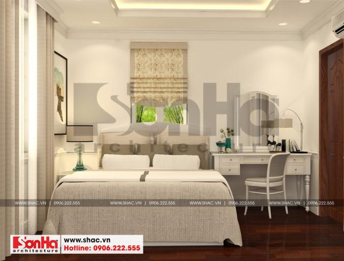 6 Mẫu nội thất phòng ngủ 2 biệt thự tân cổ điển 3 tầng tại hải phòng