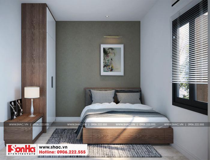 7-thiet-ke-noi-that-phong-ngu-1-nha-ong-hien-dai-mat-tien-5m-tai-hai-phong-700x533 Thiết kế nội thất nhà phố hiện đại diện tích 5x20m