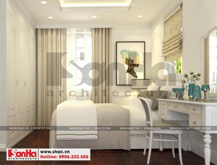 7 Thiết kế nội thất phòng ngủ 2 biệt thự tân cổ điển đẹp tại hải phòng