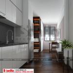 8 Thiết kế nội thất phòng bếp ăn hiện đại phòng 3 căn hộ cho thuê tại hải phòng