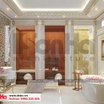9 Thiết kế nội thất wc phòng ngủ giám đốc biệt thự tân cổ điển mặt tiền 18,3m tại sài gòn sh btp 0131