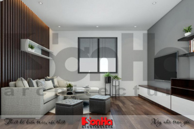 BÌA thiết kế cải tạo nội thất hiện đại căn hộ cho thuê tại hải phòng