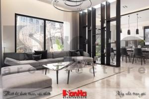BÌA thiết kế nội thất hiện đại biệt thự đơn lập khu đô thị waterfront hải phòng sh wfc
