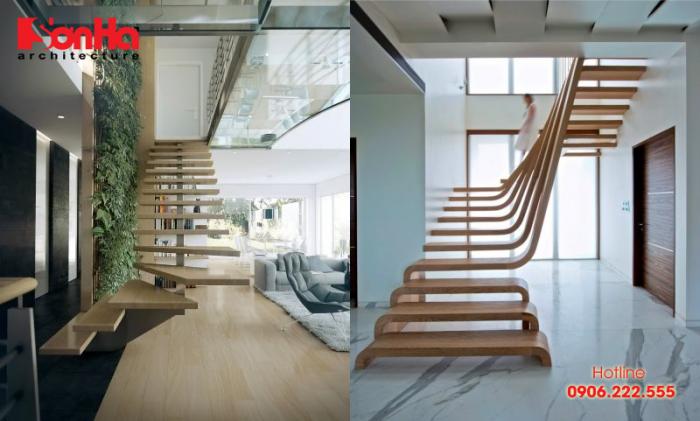 Cầu thang là một bộ phận quan trọng trong không gian nội thất ngôi nhà