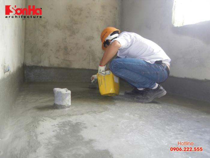 Chú ý đến kỹ thuật lát gạch khi sử dụng vữa xi măng cũng là khắc phục tốt