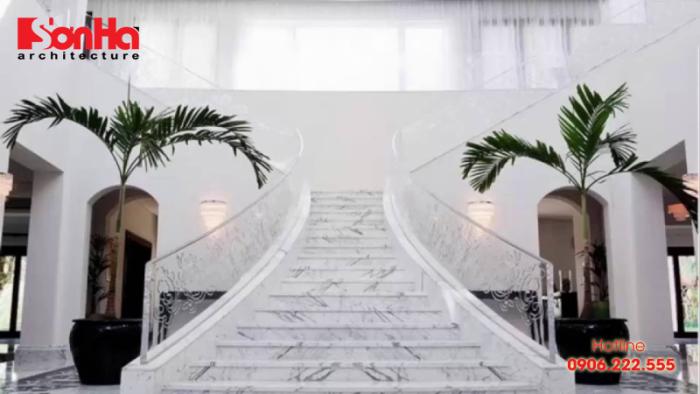 Kinh nghiệm chọn đá ốp cầu thang theo phong thủy giúp xây nhà đẹp