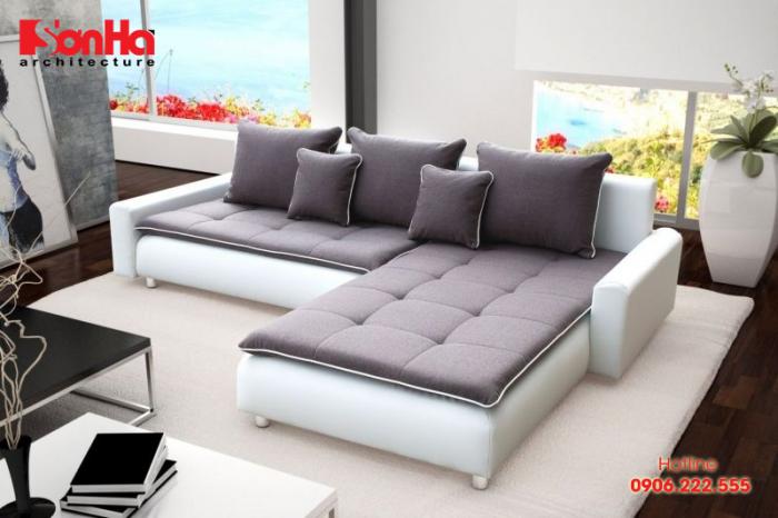Lựa chọn ghế sofe phù hợp cho phòng khách cũng là yếu tố thành công của thiết kế