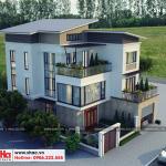 1 Thiết kế biệt thự hiện đại đẹp tại quảng ninh sh btd 0070