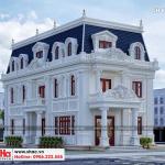 1 Thiết kế biệt thự tân cổ điển đẹp tại hà nội sh btp 0132