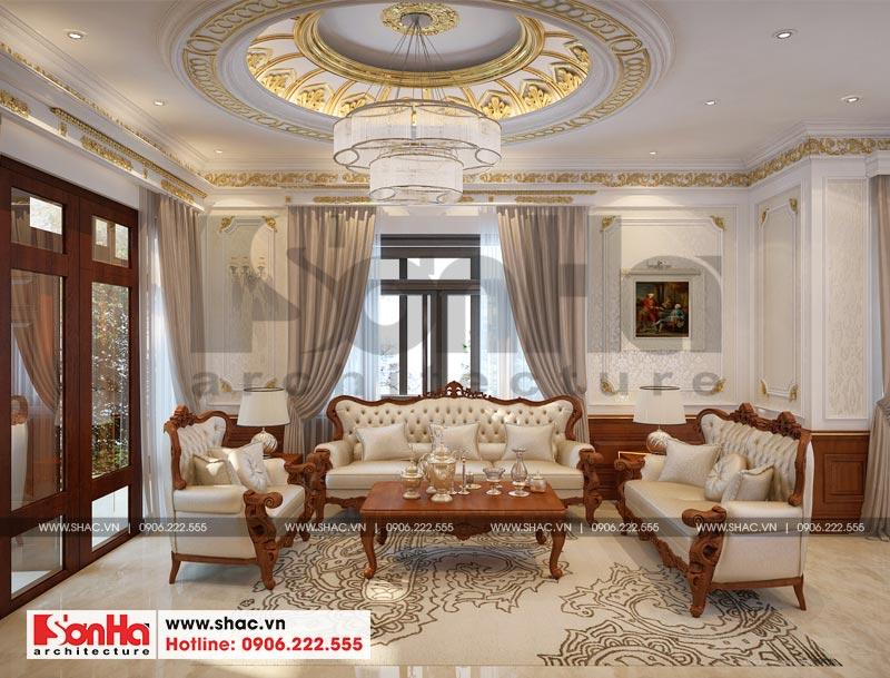 Thiết kế nội thất biệt thự đơn lập phong cách tân cổ điển tại Senturia Vườn Lài (Sài Gòn) 2