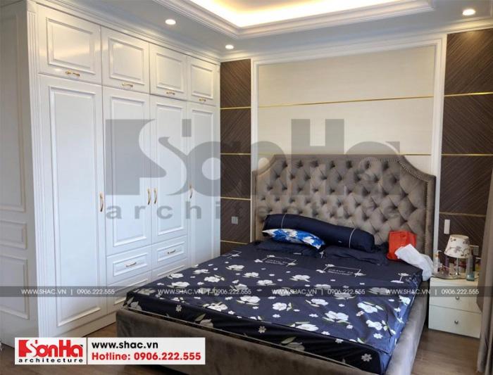 Mẫu phòng ngủ đẹp cho không gian nhà phố thêm tiện nghi