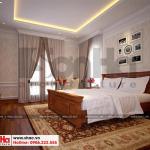 11 Thiết kế nội thất phòng ngủ 2 biệt thự tân cổ điển 3 tầng tại hà nội sh btp 0132